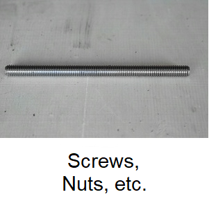 Chapter Screws, Nuts, etc.